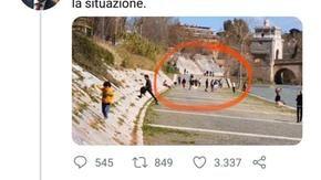 Burioni ammette l'errore e posta una foto con i legionari romani 2