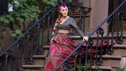 Sarah Jessica Parker splendida nel look indiano