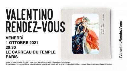 """Valentino: il """"rendez-vous"""" per guardare in diretta la sfilata P/E 2022 è venerdì 1 ottobre su Repubblica.it"""