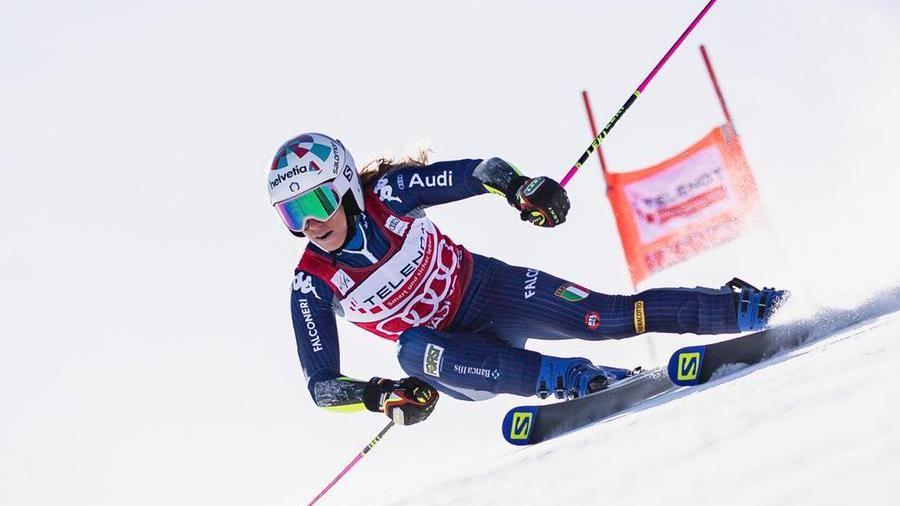Lo sci azzurro ha una nuova stella: Marta Bassino ha vinto la Coppa del mondo di gigante