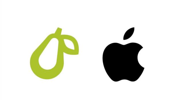La Mela contro la pera, Apple di nuovo in guerra per il logo