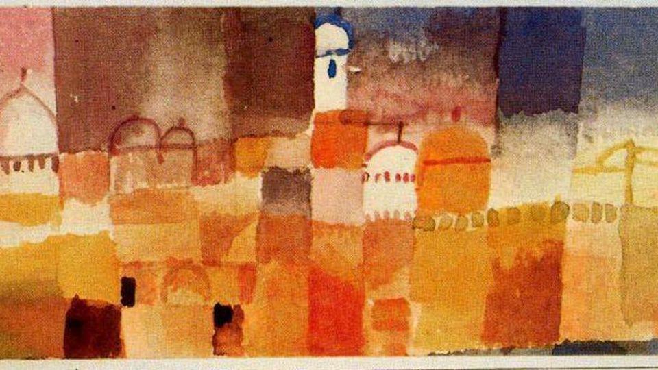 Paul Klee, un genio in Tunisia
