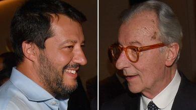 """Il nucleare al centro di Matteo Salvini e la """"coalizione del cazzo"""" di Vittorio Feltri: vota il peggio"""