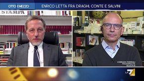 """Otto e mezzo, Giannini a Letta: """"Lavoro, serve intervento radicale per arginare la flessibilità"""""""