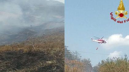 Due grossi incendi nei boschi del Bolognese: famiglie evacuate e danni ingenti