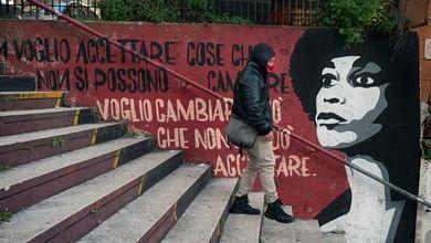 La storia del Tufello raccontata sui muri: e la periferia di Roma diventa a colori