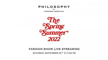 Philosophy di Lorenzo Serafini: la sfilata della collezione primavera-estate 2022 in live streaming