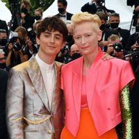 Timothée Chalamet e Tilda Swinton, la coppia più cool di Cannes