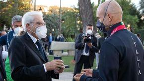 Diego Colombari a Roma dal Presidente Mattarella e dal Premier Draghi