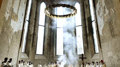 San Francesco del Prato è di nuovo chiesa: le foto della cerimonia