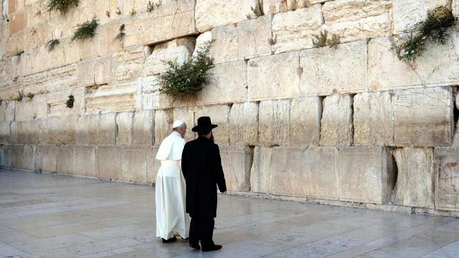 La visita di papa Francesco in Israele nel 2014