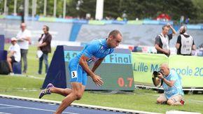 Il podista imperiese Dave Re lascia le Olimpiadi a testa alta: record stagionale nella semifinale dei 400