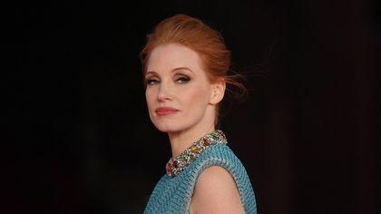 Festa del cinema di Roma, Jessica Chastain inaugura il red carpet