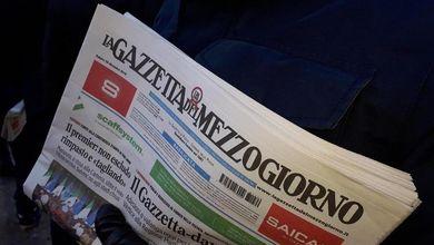 Editoria, stop alle pubblicazioni per La Gazzetta del Mezzogiorno
