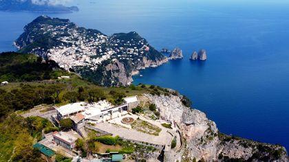 48 ore a Capri... le immagini più belle
