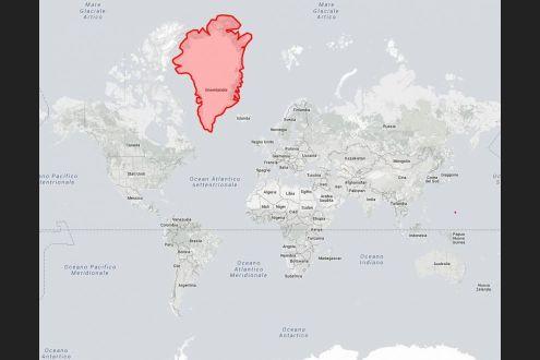 Cartina Geografica Della Groenlandia.Le Mappe Ingannano Quanto E Davvero Grande La Groenlandia Scoprilo Con L Interattivo La Repubblica