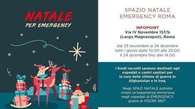 Emergency Regali Di Natale.Roma Regali Speciali A Natale Per Sostenere Emergency La Repubblica