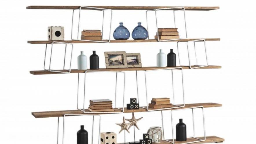 Scaffali E Librerie Design Legno.La Libreria In Legno Dal Gusto Contemporaneo La Stampa