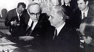 Ratzinger y Rhaner