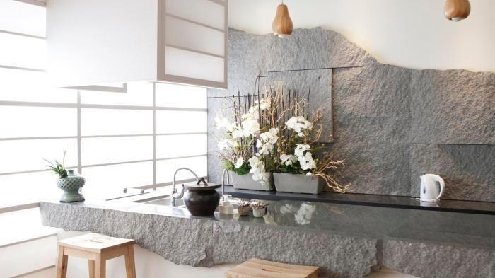 Effetto pietra in cucina<br/> - La Stampa