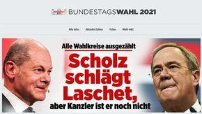 Le elezioni in Germania nei titoli dei principali quotidiani tedeschi