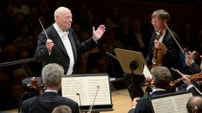 Morto il grande direttore d'orchestra Bernard Haitink