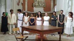Giovani attori da tutt'Italia imparano il mestiere recitando Alfieri