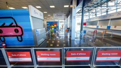 Aeroporto di Palermo, aperta l'area test per i tamponi