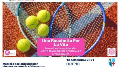 """""""Una racchetta per la vita"""", l'iniziativa di Ieo per la prevenzione del tumore: torneo di tennis tra pazienti e dottoresse e visite senologiche gratuite"""