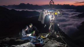 Quella foto in cima alla Losetta che ricorda la passione di Luca per le Alpi