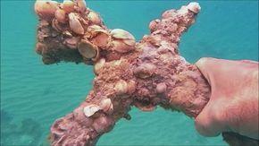 Dopo 900 anni sub ritrova la spada appartenente a un crociato al largo della costa mediterranea di Israele