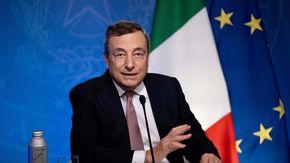 """Covid, Draghi: """"Pronti a triplicare l'impegno italiano, doneremo 45 milioni di vaccini ai paesi poveri entro il 2021"""""""