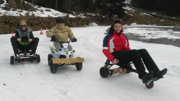 Risultato immagini per quad sulla neve