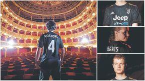 Dark e cangiante, la nuova maglia della Juventus ha i colori della Torino underground