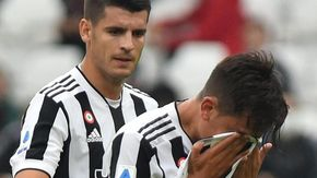 La Juve perde Dybala e Morata per infortunio: allarme per la sfida di Champions contro il Chelsea