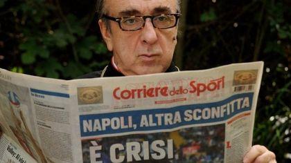 Paolo Sorrentino, mai festeggiare lo scudetto del Napoli in anticipo: via la scena da 'The Young Pope'