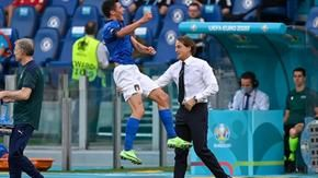 Mancini's Italy does not know how to calculate: the group wins