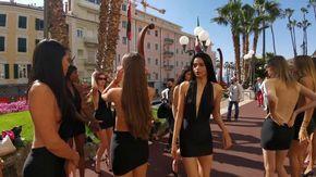 A Sanremo modelle da tutto il mondo per la finale di The Look of the Year