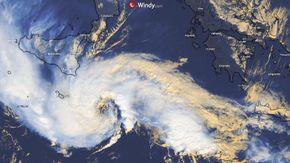 MediCane, il tragitto dell'uragano mediterraneo che colpirà Sicilia e Calabria