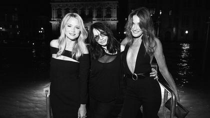 Da Carla Bruni a Charlotte Gainsbourg, le foto del party Saint Laurent al Festival di Venezia