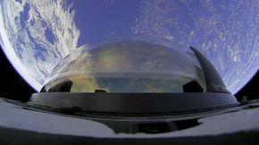 La nuova cupola di vetro di SpaceX è la più grande in volo nello Spazio