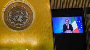 Clima, diritti delle donne afghane e vaccini: le sfide del nostro tempo nel discorso all'Onu di Draghi