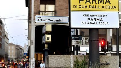 Parma, svelata l'arte temporanea dei giovani artisti - foto