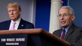 """Coronavirus, Fauci: """"Lo scoppio alla Casa Bianca avrebbe potuto essere prevenuto.  Covid-19 non è una bufala"""