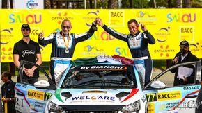 Zucconi-Zanini al Rally di Catalunya sesti di classe RC4