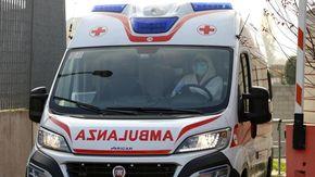 Scontro tra moto e furgone in un incidente a Peveragno