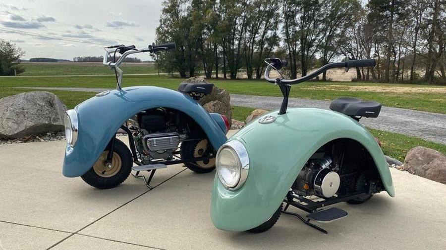 Il Maggiolino trasformato in scooter: ecco Volkspod, l'omaggio alla Beetle