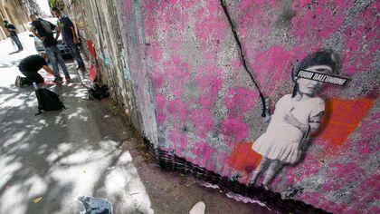 Palermo, alla Kalsa omaggio di nove street artist a Banksy