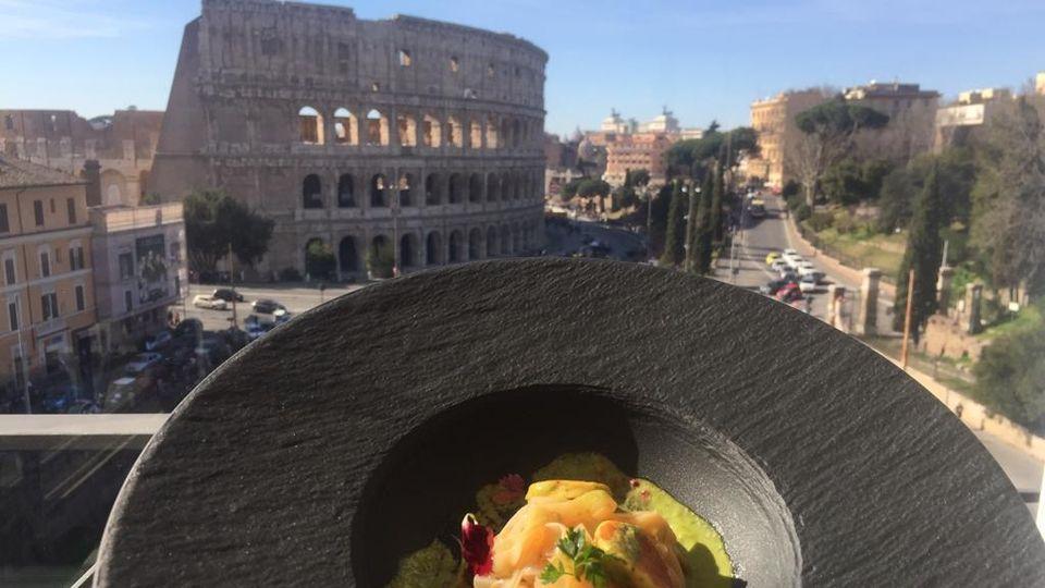 Alta Cucina Con Vista Nelle Terrazze Gourmet Di Roma Fra