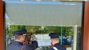 I carabinieri chiudono la Torteria ribelle di Chivasso